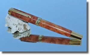 Executive Style RollerBall Red Mallee - 1206